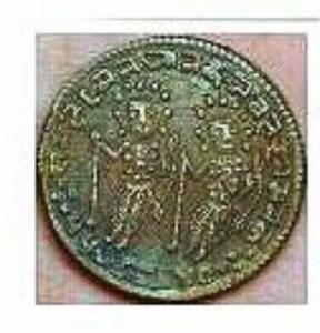 2位インド銅貨
