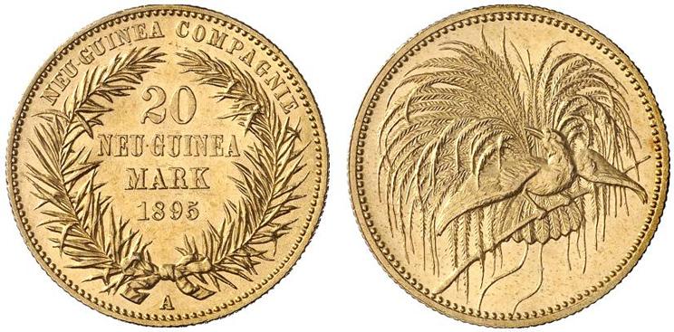 極楽鳥 金貨 20 マルク