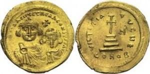 1枚目写真ヘラクレイオスソリダス金貨