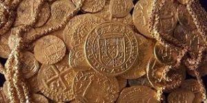 1715年 トライセンテニアル・ロイヤル金貨①