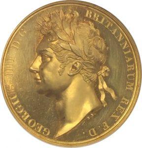 ジョージ四世 メダル