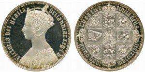ゴチッククラウン 銀貨