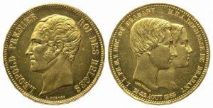 レオポルド 一世 100フラン