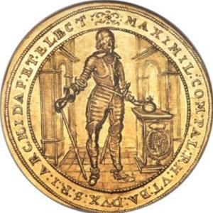 マキシミリアン一世 金貨