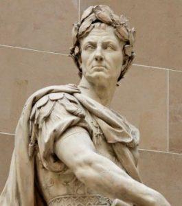 ユリウス・カエサル 横顔像 銀貨