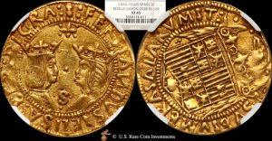 1674 イサベル コイン