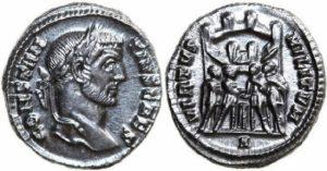 コンスタンティヌス一世 銀貨